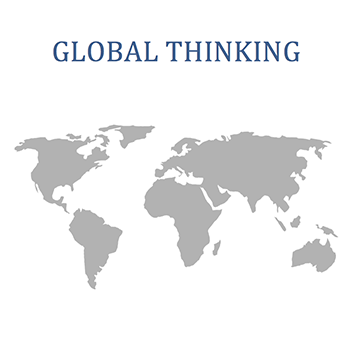 Global Thinking Graphic