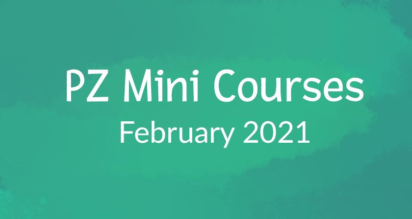Online Mini Courses 2021